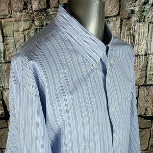 Brooks Brothers Non-Iron Dress Shirt Men Sz 20/36